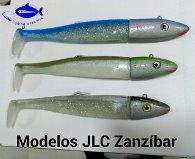 JIGGING A LA CARTA MINNOW DE 300 gr. / 23 cm. Mod. JLC ZANZIBAR JIGGING 300 gr. Nº 1 CAQUI / ORO