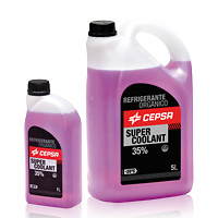 CEPSA SUPER COOLANT 35%.