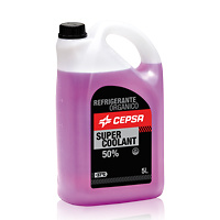 CEPSA SUPER COOLANT 50%