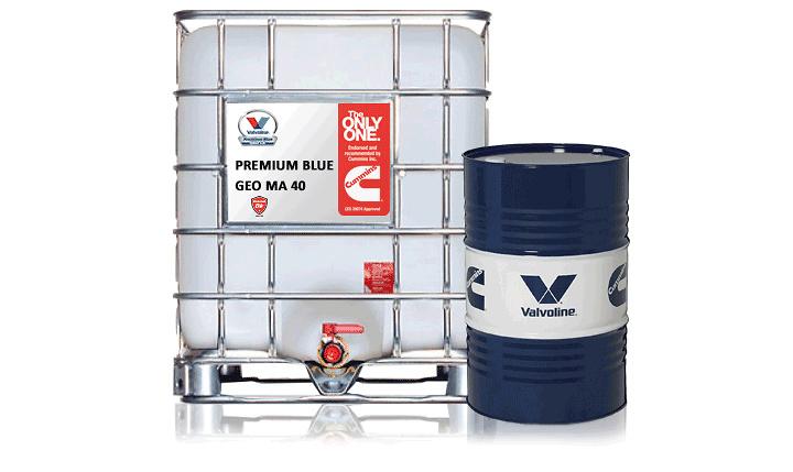 ACEITE VALVOLINE - PREMIUM BLUE GEO MA-40
