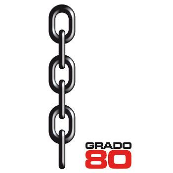 CAD CADENA DE ACERO NORMA EN 818-2 GRADO 80.