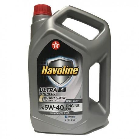 TEXACO HAVOLINE ULTRA 5W40.