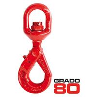 GANCHO AUTOCIERRE GIRATORIO GRADO 80