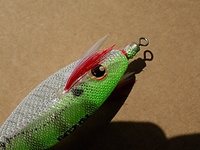 "JO-ZURI JIBIONERA SQUID JIG ""ULTRA"" CLOTH SS - S - M. (GLOW)"