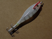 "JO-ZURI JIBIONERA SQUID JIG ""ULTRA"" CLOTH SS - S - M. (GLOW)."