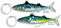 SEÑUELO CURRICAN WILLIAMSON LIVE MACKEREL 18 CM. 135 GR. 2 PCS.