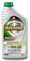 TEXACO HAVOLINE ProDS V SAE 5W30.