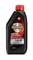 TEXACO HAVOLINE SAE 15W40.