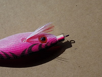 "YO-ZURI JIBIONERA SQUID JIG  ""ULTRA"" CLOTH SS- S - M."